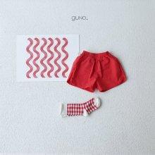 3 type short pt <br>red<br>『guno・』<br>19SS <br>定価<s>2,900円</s><br>S