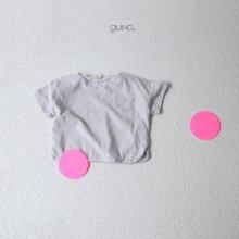 Haruki pocket T<br>light gray<br>『guno・』<br>19SS <br>定価<s>1,760円</s>