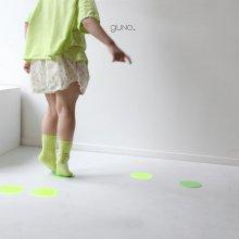 Dot short pt<br>neon green<br>『guno・』<br>19SS <br>定価<s>2,900円</s>