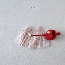 mimi skirt pt<br>red dot<br>『guno・』<br>19SS <br>定価<s>2,900円</s><br>M