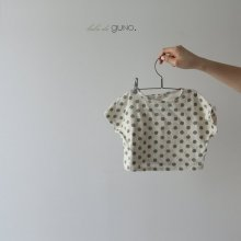 bebe dot T<br>green<br>『bebe de guno.』<br>19SS <br>定価<s>1,600円</s><br>6/12M