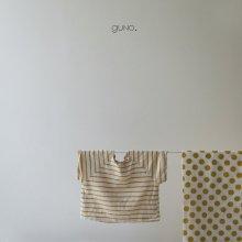 stripe T<br>yellow<br>『guno・』<br>19SS <br>定価<s>1,600円</s>