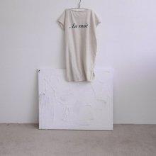 la nuit ops<br>ivory<br>『guno・』<br>19SS <br>定価<s>3,200円</s><br>XS/M/XL