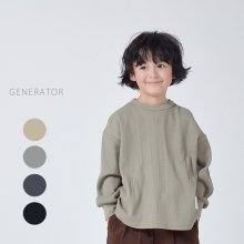 Waffle T<br>4 color<br>『GENERATOR』<br>19FW <br>定価<s>2,750円</s>
