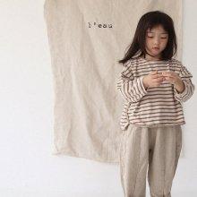 jeju pt<br>light beige<br>『 l'eau 』<br>19FW <br>定価<s>3,200円</s><br>