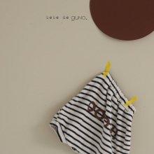 bebe oooh towel bloomer<br>『bebe de guno・』<br>19FW <br>定価<s>2,600円</s><br>
