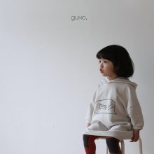 strong hood ops<br>ivory<br>『guno・』<br>19FW<br>定価<s>3,900円</s><br>XS/M/L/XL