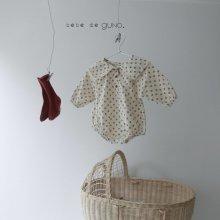 bebe vintage cara suit<br>flora<br>『bebe de guno・』<br>19FW <br>定価<s>3,900円</s><br>