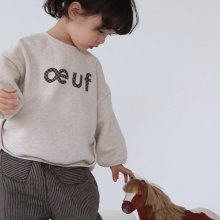 oeuf T<br>ivory<br>『guno・』<br>19FW <br>定価<s>2,900円</s><br>S