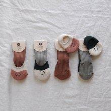 bebe smile socks set<br>2color<br>『Happy prince』 <br>19FW