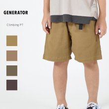 Climbing pt<br>4 color<br>『GENERATOR』<br>20SS <br>定価<s>2,970円</s>