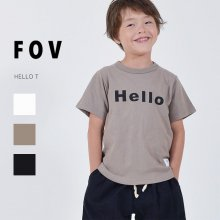 Hello T<br>3 color<br>『FOV』<br>20SS <br>定価<s>1,760円</s>