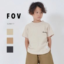 Sunny T<br>3 color<br>『FOV』<br>20SS <br>定価<s>1,760円</s>