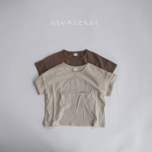 Moon T<br>2 color<br>『nunubiel』<br>20SS <br>定価<s>1,800円</s>