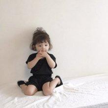 Tiramisu set<br>3 color<br>『nunubiel』<br>20SS <br>定価<s>1,600円</s><br><br>black/M