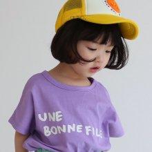 bon fille T<br>violet<br>『guno・』<br>20SS <br>定価<s>1,800円</s>XS/L