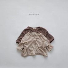 Latte Cardigan<br>2 color<br>『anggo』<br>20SS <br>定価<s>1,600円</s><br>XS/L/XL