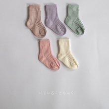 Rib socks set<br>Pink set<br>20SS  【Restock】