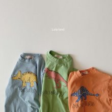 dinosaur T<br>3 color<br>『LaLaLand』<br>20SS <br>定価<s>1,700円</s>