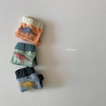 dinosaur underpants set<br>3 color 1 set<br>『LaLaLand』<br>20SS