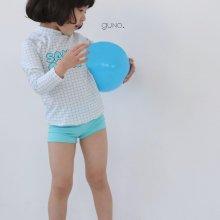 retro check swimsuit<br>3 item 1 set<br>『guno・』<br>20SS<br>定価<s>4,000円</s>