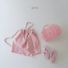 tao check skt<br>pink<br>『guno・』<br>20SS <br>定価<s>3,060円</s>
