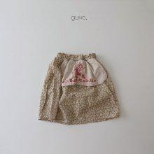 apron skt<br>beige<br>『guno・』<br>20SS <br>定価<s>3,060円</s>XS/S