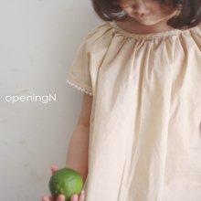 pongpong ops<br>beige、blue<br>『opening N』<br>20SS