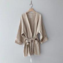 Linen robe<br>MOM<br>『monbebe』<br>20SS  【STOCK】