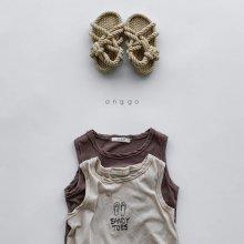 Sandy sleeveless<br>2 color<br>『anggo』<br>20SS <br>定価<s>1,500円</s>
