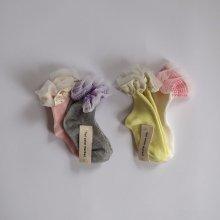 Frill socks<br>2 Color 1 Set<br>『yoi』<br>20SS