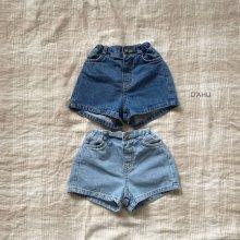 Garson denim shorts<br>2 color<br>『O'ahu』<br>20SS<br>定価<s>2,900円</s>