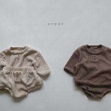 Bebe Cropple top and bottom<br>2 color<br>『anggo』<br>20FW <br>定価<s>3,400円</s><br>S/M