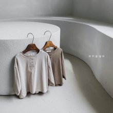 Biscuit long T<br>2 color<br>『anggo』<br>20FW<br>定価<s>1,900円</s><br>S/M