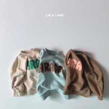 Parade Sweat <br>3 color<br>『LALA LAND』<br>20FW <br>定価<s>2,600円</s><br>Brown / S
