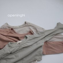 Nature T<br>3 color<br>『opening N』<br>20FW【STOCK】