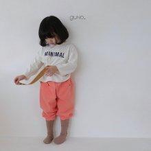 minimal T <br>ivory<br>『guno・』<br>20FW【STOCK】<br>定価<s>2,000円</s><br>S