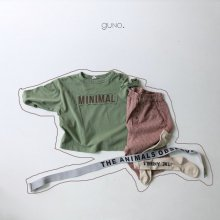 minimal T <br>green<br>『guno・』<br>20FW【STOCK】<br>定価<s>2,000円</s><br>S