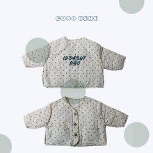 bebe number jacket<br>2 color<br>『bebe de guno・』<br>20FW