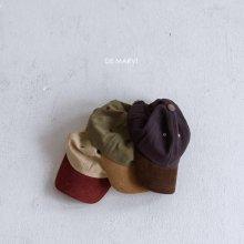 Corduroy 2tone Cap<br>20FW 【STOCK】