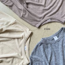 Furgie wool T<br>3 color <br>『O'ahu』<br>20FW