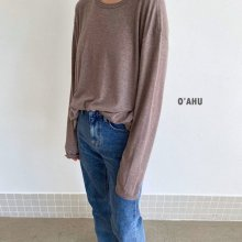Furgie wool T<br>MOM<br>3 color <br>『O'ahu』<br>20FW