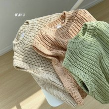 Neph knit vest<br>3 color <br>『O'ahu』<br>20FW