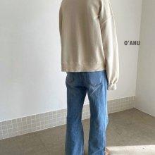 Fuzzy Dying Sweatshirt<br>MOM<br>3 color <br>『O'ahu』<br>20FW