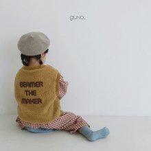beamer fur vest<br>mustard<br>『guno・』<br>20FW