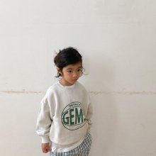 Gems Sweatshirt<br>natural<br>『viviennelee』<br>20FW <br>定価<s>3,080円</s>