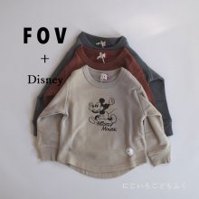 Micky Sweat <br>3 color<br>『FOV + Disney』<br>20FW 定価<s>2,860円</s>