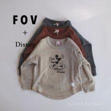 Micky Sweat <br>3 color<br>『FOV + Disney』<br>20FW 定価<s>2,860円</s>