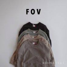 PLAIN big sweatshirt<br>4 color<br>『FOV』<br>20FW 定価<s>2,090円</s>