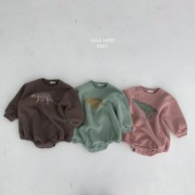 Bebe dinosaur suit<br>3 color<br>『lala land』<br>20 FW <br>定価<s>2,900円</s><br>Brown / M